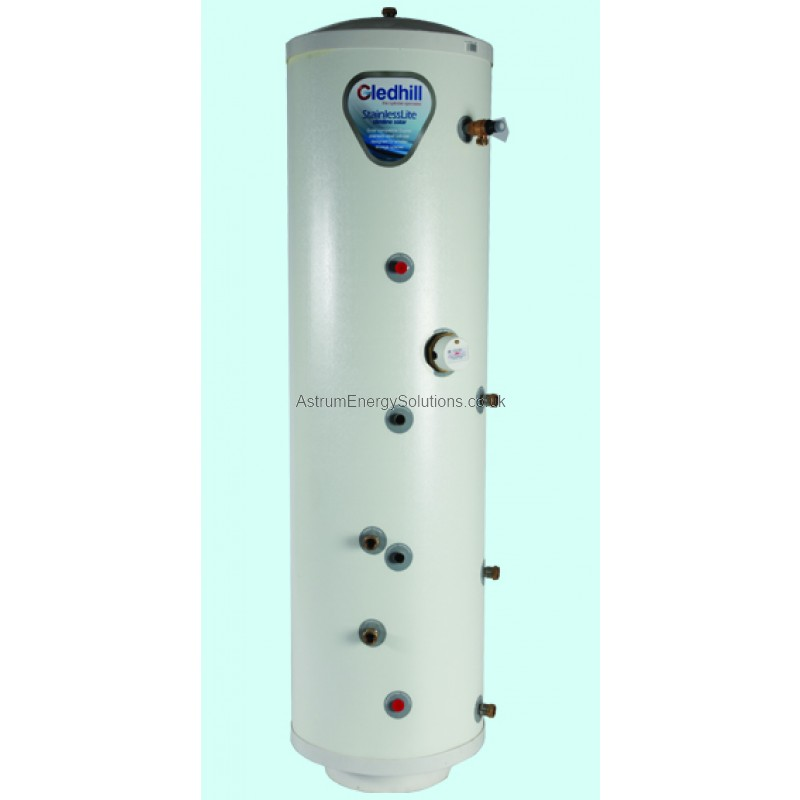 Gledhill Stainless Lite Slimline Direct Unvented 90 Litre Cylinder ...