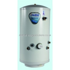 Gledhill Stainless Lite Indirect Unvented 400 Litre Cylinder. IND400