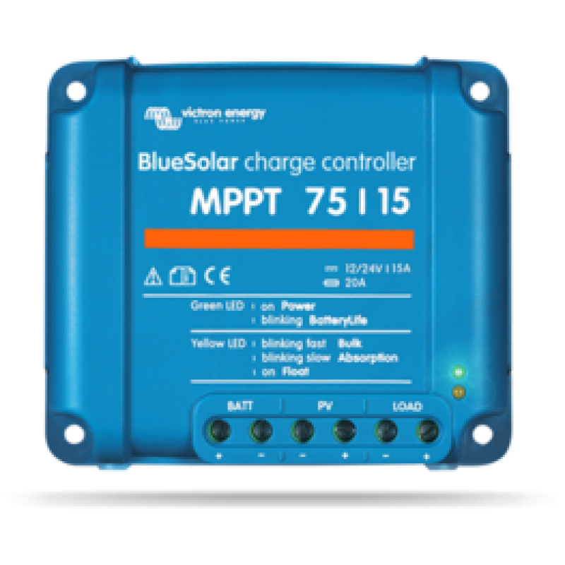 Victron 75/15 solar charge controller