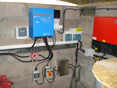 Off grid system, Victron Multiplus 5000 with SMA Sunnyboy 3600