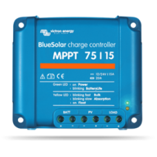 Victron BlueSolar MPPT 75/15 Solar Charge Controller 15A